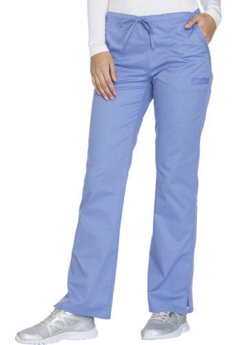 Ciel Cherokee Workwear Core Stretch Straight Leg Drawstring Pants WW130 CIEW