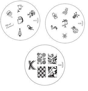 Konad-Stamping-Nail-Art-Image-Plates-M-series-M1-M106