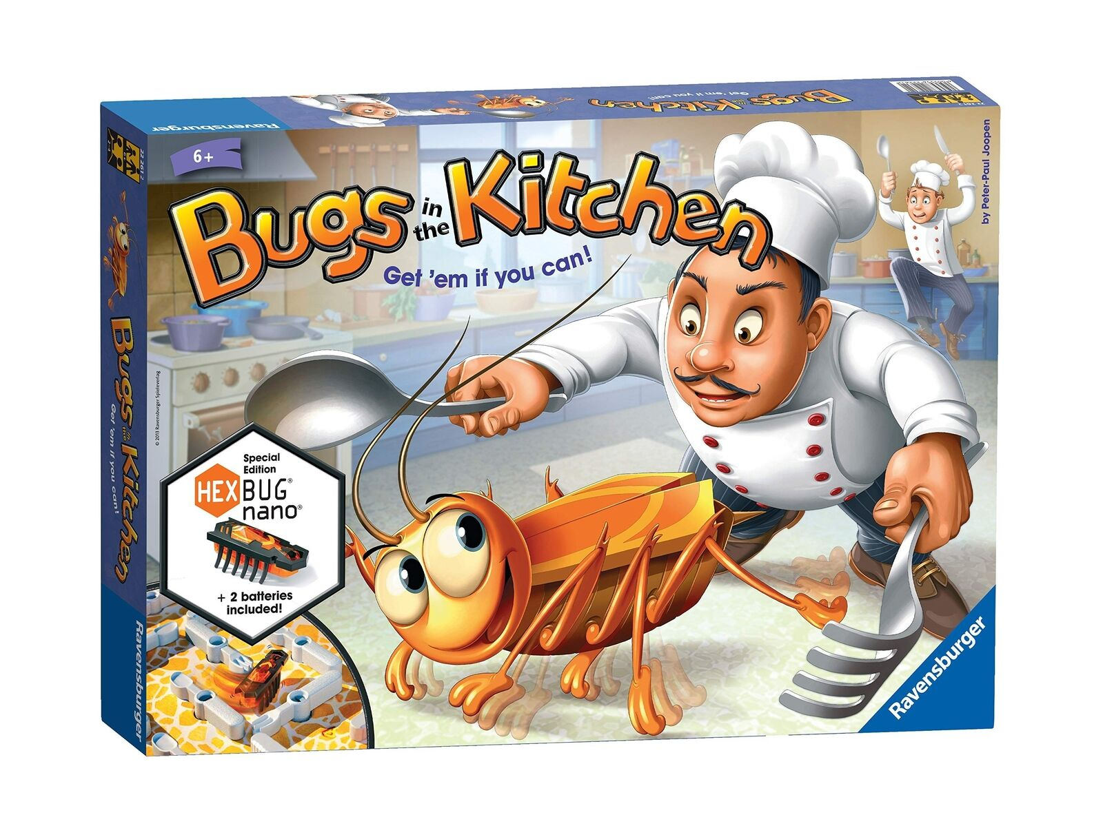 Bugs in the Kitchen - Children's Board Game,Easy to learn