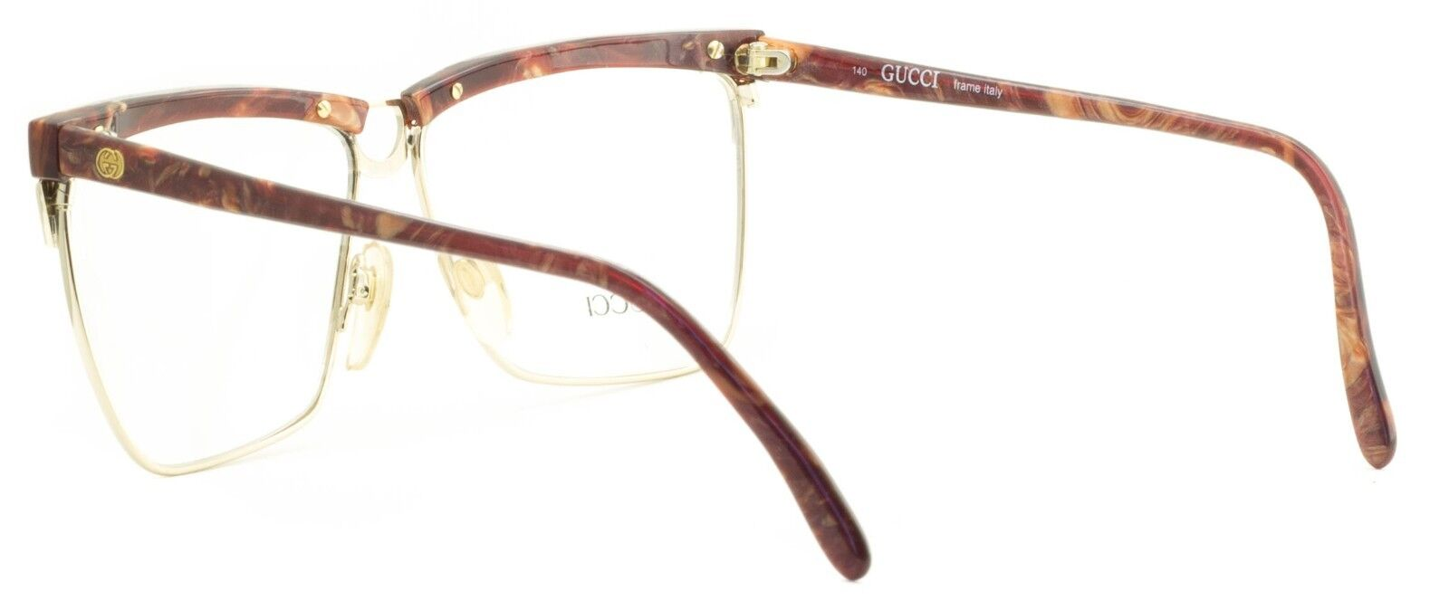 0ed926feee7 Gucci GG 2301 50u Eyewear Frames Glasses RX Optical Eyeglasses Italy ...