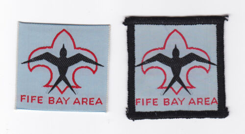 SCOUTS OF PAPUA NEW GUINEA PNG SCOUT FIFE BAY AREA DISTRICT PATCH 2 VAR E++