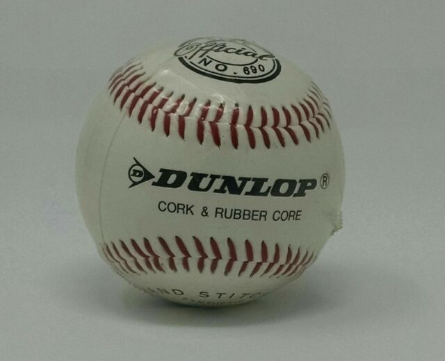 Dunlop Hand Stitched Baseball No. 690
