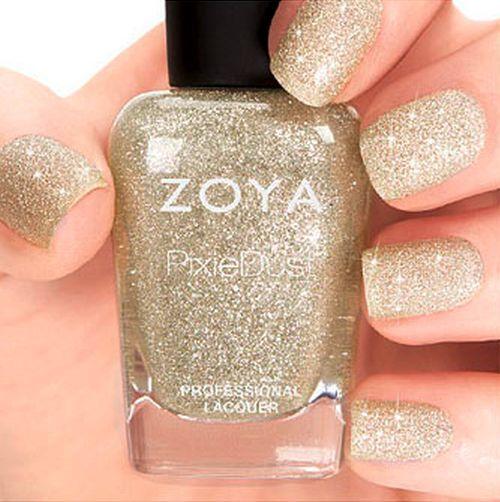 ZOYA PixieDust ZP698 TOMOKO silver matte sparkle nail polish lacquer~PIXIE DUST