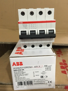 New In Box For ABB Circuit Breaker S203-D32NA S203 D32NA free shipping
