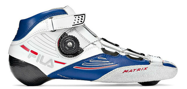 Fila Matrix Pro Boot white/blue Speedskates Fitness Inline Skates Gr. 41 - Sale