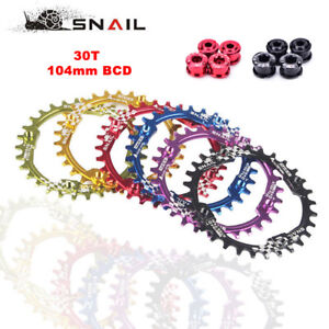 Racing-104BCD-MTB-Bike-Chainring-30T-Narrow-Wide-SHIMANO-SRAM-Crank-Chainwheel
