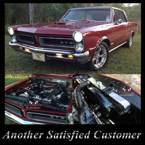 1964 1965 Pontiact GTO LeMansTempest 3 Row WR Radiator A//C Heavy Duty