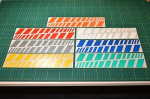 Reflective Strip Stickers for Motorbike Cycle Safety Hi-vis High Visibility