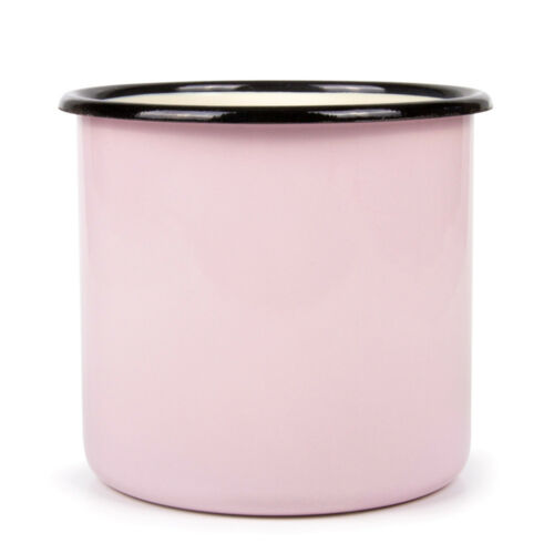 Cold Drink 34 fl oz Large Purple Enamel Mug For Picnic Camping Durable For Hot