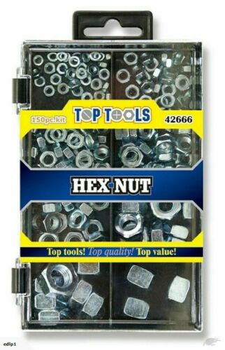 150 HEX NUT Socket Button Head Screw Bolt Nut Stainless Steel Box DIY UK SELLER