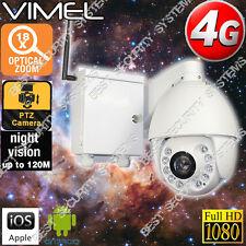 4G Security Camera Farm Outdoor Farm Home PTZ 18XOptical Zoom GSM Live View 3G
