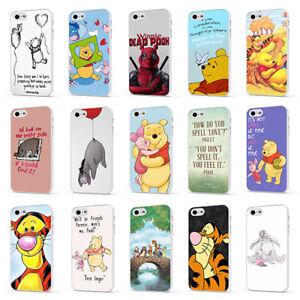 Dettagli su Winnie THE POOH EEYORE TIGRO preventivo Bianco Telefono Case Cover per iPhone 5 6 7 8 X- mostra il titolo originale