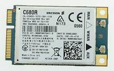 WWAN 5540 3G HSPA CARD C680R F3607GW DELL INSPIRON LATITUDE PRECISION STUDIO G65