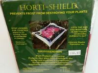 Horti-shield Plant Protective Covering Frost Winter Rhododendron Garden