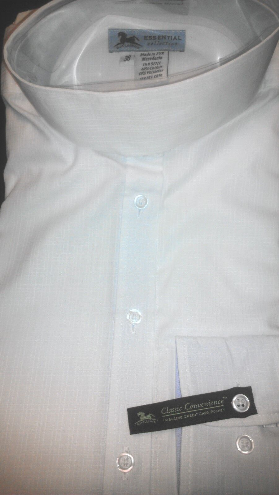 Ladies HUNT show SHIRT - WHITE-  NEW by RJ Classics traditional collar SIZE 30