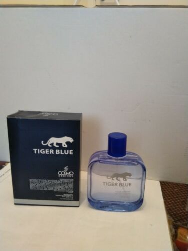 c417b704a 1 of 2FREE Shipping COSMO DESIGNS TIGER BLUE Mens 100ml EDT Eau De Toilet  Fragrance.