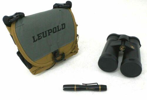 Leupold Yellowstone 10x42mm Binocular Black With Harness /& Lens Pen