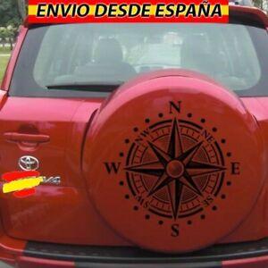Pegatinas-Rosa-De-Vientos-Vinilo-Decal-Stickers-Coche-4x4-Jeep-Toyota-45x46cm