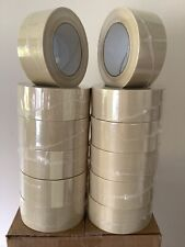 New Listingfilamint Strapping 39 Mil Half Case Tape 2 X 60 Yds 12 Rolls White