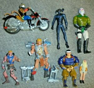 HE-MAN-THUNDERCATS-BIKER-MICE-FROM-MARS-ETC-JOB-LOT-BUNDLE-FIGURES-A6