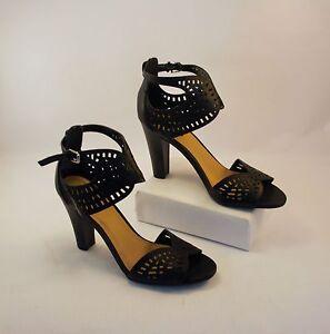 Open Toe High Heels Womens Size 8.5M