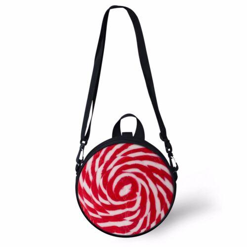 Lollipop Candy Bag Women Shoulder Bag Little Girls Backpack Dual-use Bag Satchel