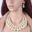 Fashion-Boho-Crystal-Pendant-Choker-Chain-Statement-Necklace-Earrings-Jewelry thumbnail 22