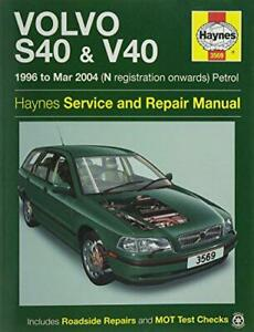 Volvo-S40-amp-V40-Petrol-Owner-039-s-Workshop-Manual-96-04-by-Anon-NEW-Book-FREE