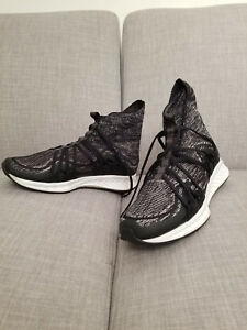 cce138da0d66 Image is loading Puma-Ignite-Evoknit-Fold-Black-White-Mens-with-