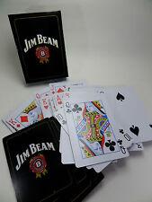 JIM BEAM Pokerkarten- Kartenspiel - 52 Blatt + 2 Joker - Neu