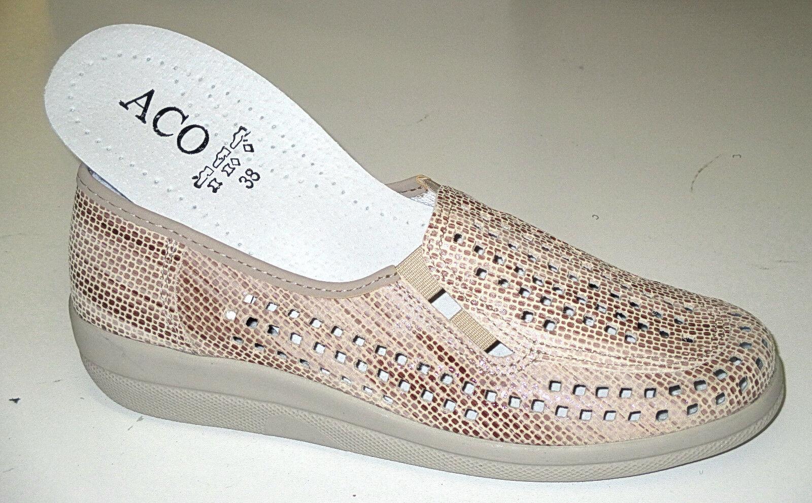 CAV chaussures femmes Pantoufles  Natália , cuir, Taille 35-42 +++ NEUF ++++