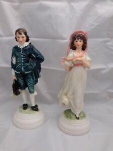 Goebel-West-Germany-Pair-of-Figurines-Blueboy-FF290-amp-Pinkie-FF291