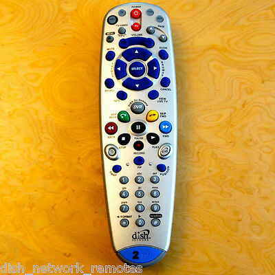 DISH NETWORK BELL ExpressVU 6.3 Remote Control TV2 IR//UHF 722 9241 Model 148787