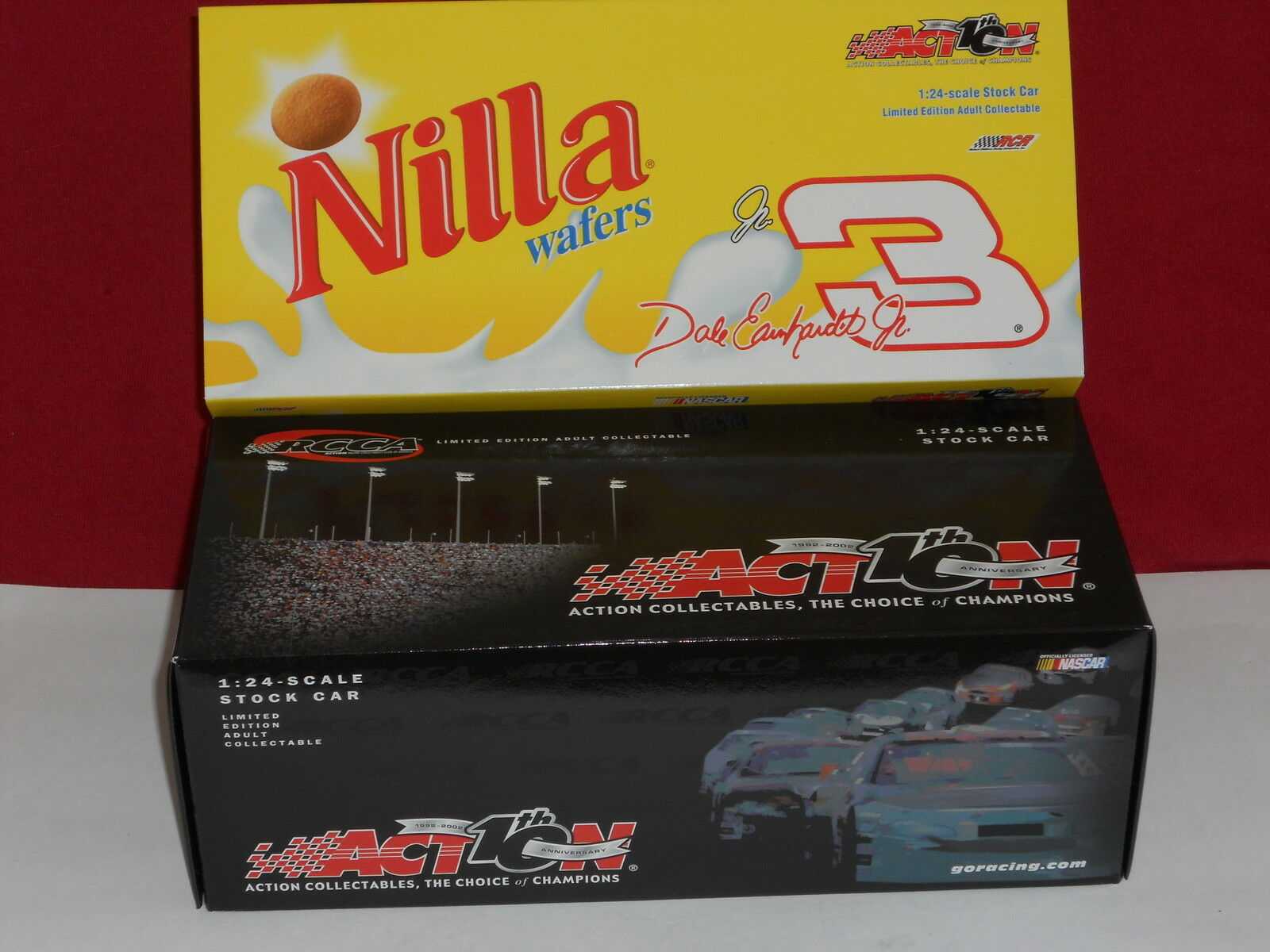 Earnhardt Jr 2002 Nilla Wafers Wafers Wafers RCCA   Action Clear Window Bank   5004 12cd84
