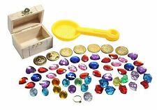 Burried Treasure Hunt Sensory Bin (sand toy) - Toddler Toy Pirate Chest