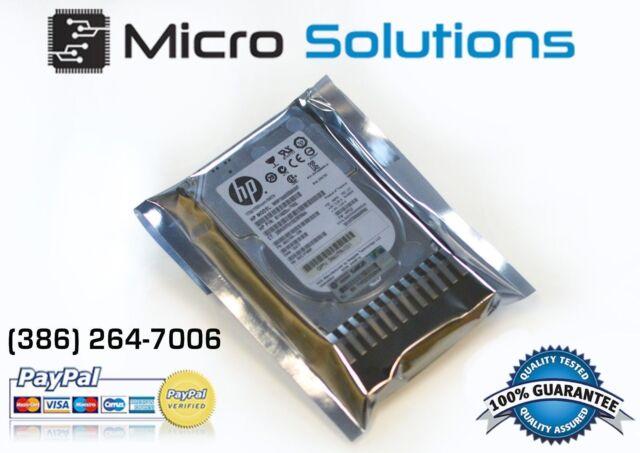 "HP 619291-b21 900GB 6G 10K 2.5"" DP SAS Hard Drive HDD w/ G7 Tray"