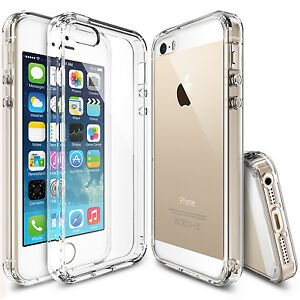 For-Apple-iPhone-SE-5S-Ringke-FUSION-Clear-Shockproof-Protective-Cover-Case