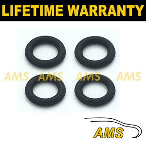 FOR FORD 1.6 DIESEL INJECTOR LEAK OFF ORING SEAL SET OF 4 VITON RUBBER UPGRADE