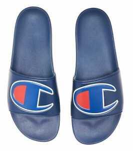 Champion IPO Slides Sandals Navy Dark