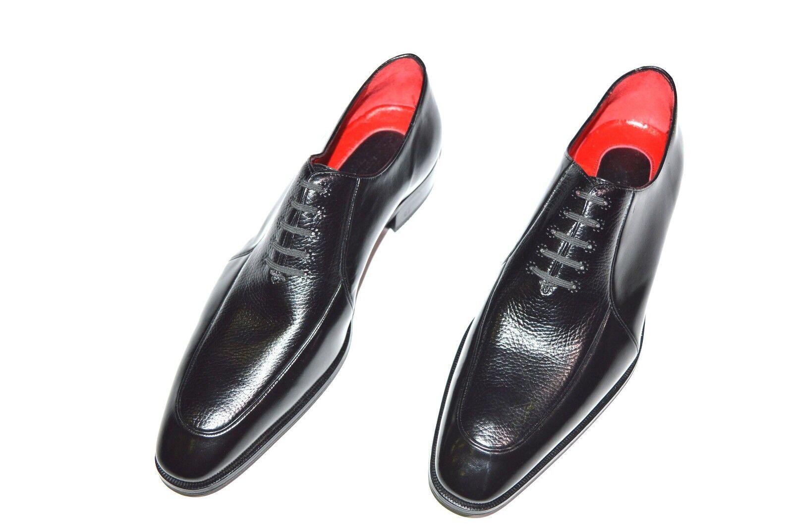 Nuevo STEFANO RICCI Cuero Zapatos Talla nos 9.5 (COD N48)