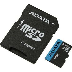 MicroSD ADATA SDHC 16 GB Class 10 + Adapter (AUSDH16GUICL10-RA1)