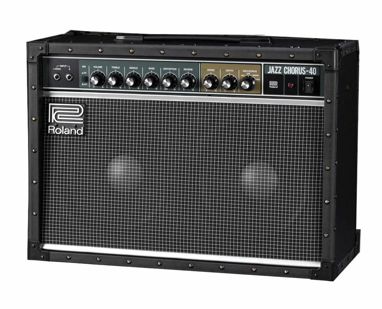 Roland JC-40 Jazz Chorus Guitar Amplifier 40 Watt Speaker PROAUDIOSTAR. Buy it now for 599.99
