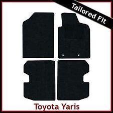 TOYOTA YARIS T-Sport Mk1 / XP10 2001-2005 Tailored Carpet Car Floor Mats BLACK