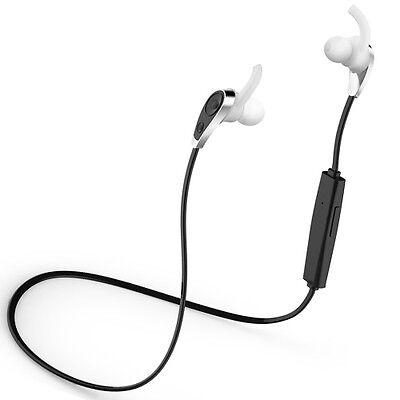 Bluetooth Headset Stereo Sport Music Kopfhörer Freisprech Schwarz