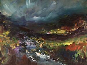 ORIGINAL-PAINTING-November-Walk-Snowdonia-40x30cm