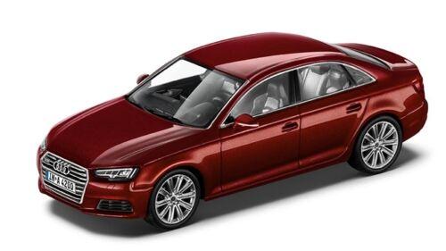 ORIGINALE Audi a4 8w BERLINA MODELLO DI AUTO 1:43 matadorrot modello AUDI a4 8w ROSSO