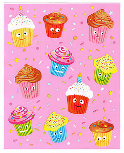 QUICKUTZ DIE CUT KITS 10 X DOTTED DAISY CUPCAKES