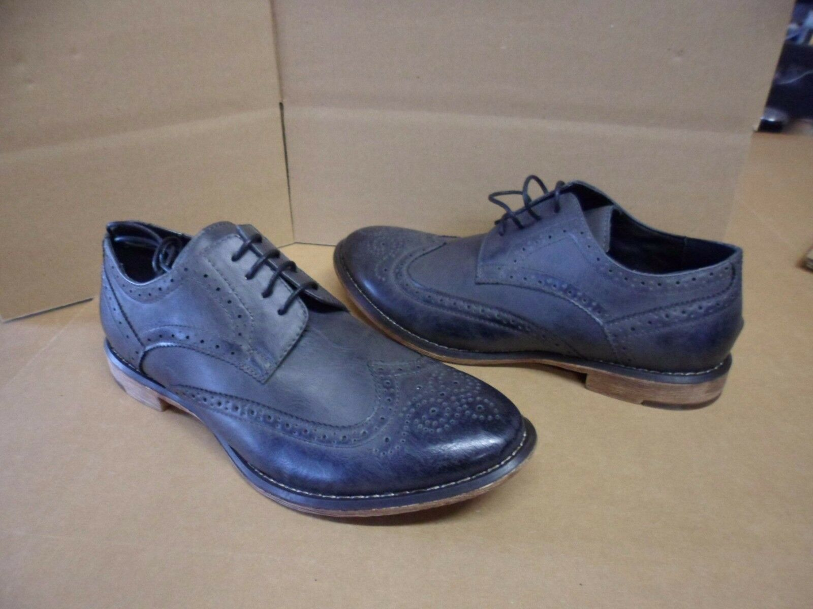 J75 by Jump Shoes Men's Farley Gray Dress Shoes Jump f8d609