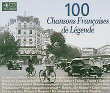 100 Chansons françaises de légende von Artistes Divers | CD | Zustand akzeptabel