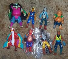 1990 Hasbro Pirates of Dark water 8 figure Collection Lot